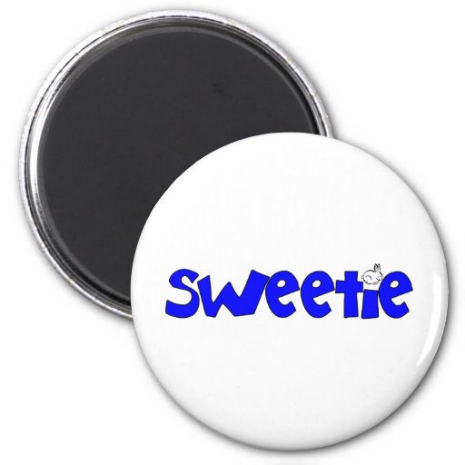 Sweetie 2 Inch Round Magnet