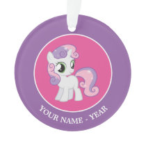 Sweetie Bell Ornament