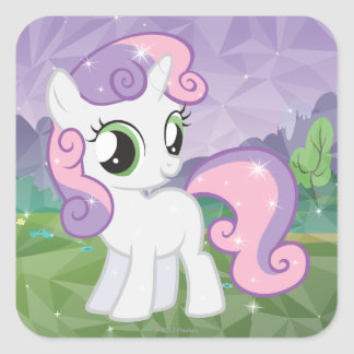 Sweetie Bell Square Sticker