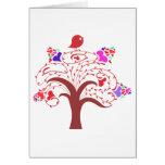 sweetie bird and love tree card
