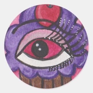 Sweetie Classic Round Sticker