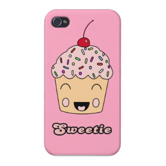 Sweetie Cupcake - Pink iPhone 4 Cases