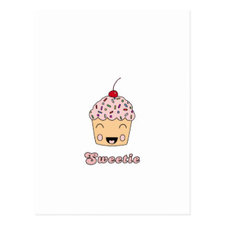 Sweetie Cupcake Postcard