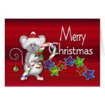 ¡Sweetie de las Felices Navidad! - Bastón del rató Tarjetón