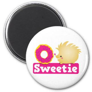 sweetie HEDGEHOG 2 Inch Round Magnet