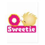 sweetie HEDGEHOG Postcard