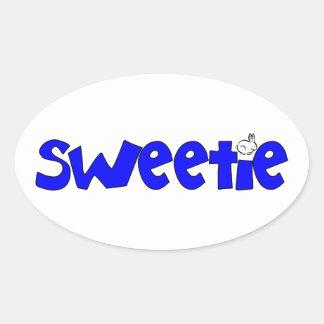 Sweetie Oval Sticker