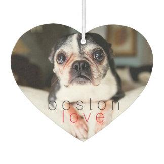 Sweetie Pie Boston Terrier Car Air Freshener