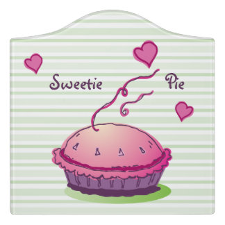 Sweetie Pie Door Sign