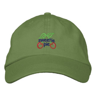 Sweetie Pie Embroidered Baseball Cap