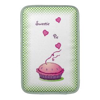 """Sweetie Pie green 11"""" Vertical Sleeves For MacBook Air"""