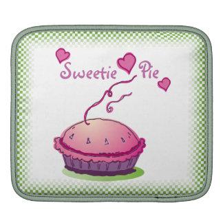 Sweetie Pie green horizontal Sleeve For iPads