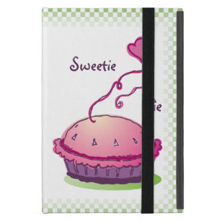 Sweetie Pie green vertical Cover For iPad Mini