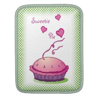 Sweetie Pie green vertical Sleeves For iPads