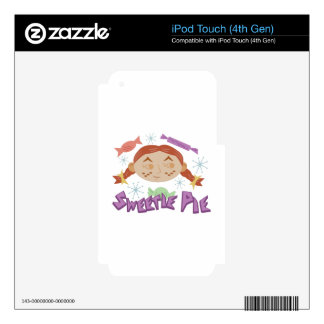 Sweetie Pie iPod Touch 4G Skins