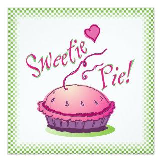 Sweetie Pie Pie Baking Invitation