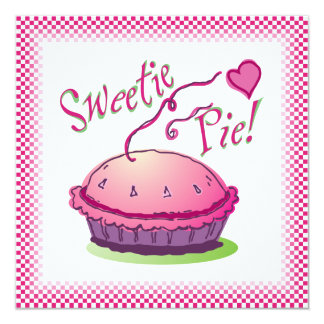 Sweetie pie Pie Eating Contest Invite