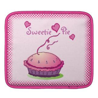 Sweetie Pie pink horizontal iPad Sleeves