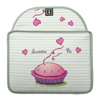 "Sweetie Pie stripes 13"" Sleeve For MacBook Pro"