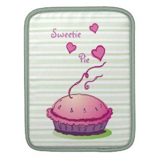 Sweetie Pie Stripes vertical iPad Sleeves