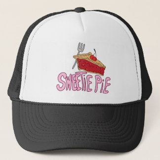 Sweetie Pie Valentines Day Message Trucker Hat