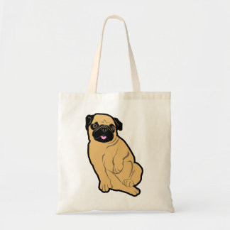 Sweetie Pug Canvas Bags