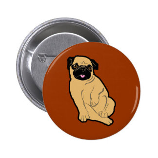 Sweetie Pug Button