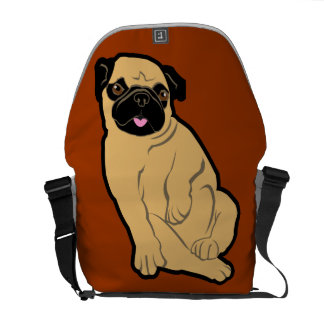 Sweetie Pug Courier Bag
