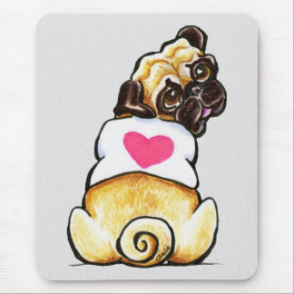 Sweetie Pug Mouse Pad