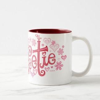 Sweetie Two-Tone Coffee Mug