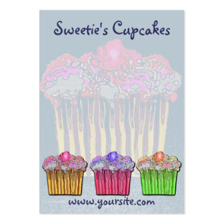 Sweetie's Cupcakes Bakery Business Card