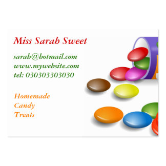 Sweeties, Miss Sarah Sweet Large Business Cards (Pack Of 100)