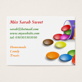 Sweeties, Miss Sarah Sweet Business Card