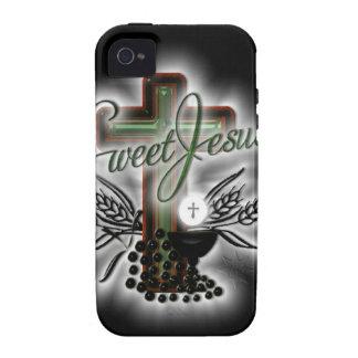 SweetJesus Vibe iPhone 4 Carcasas