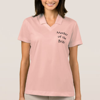 SweetKid's  MOTHER OF THE BRIDE Polo Shirt