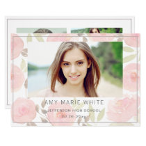 Sweetly Scented Graduation Announcement