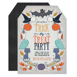 Superior Halloween Party Invitations   Sweetly Spooky Halloween Party Invitation Part 12