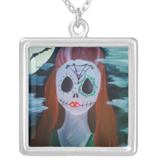 Sweetly Twisted Midnight Bite Necklace