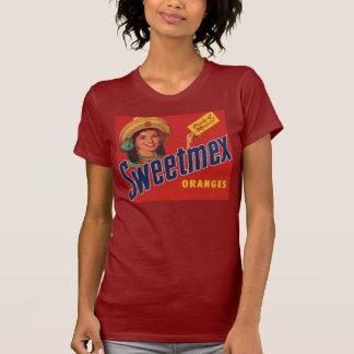 sweetmex oranges label shirt