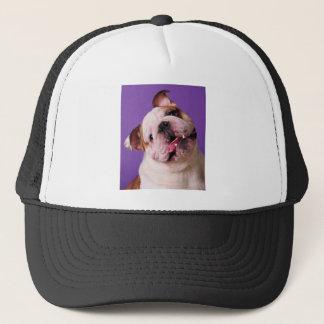 Sweetness is a Bulldog Trucker Hat