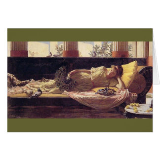 Sweetness of Doing Nothing (Dolce far Niente) Greeting Card