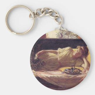 Sweetness of Doing Nothing (Dolce far Niente) Keychain
