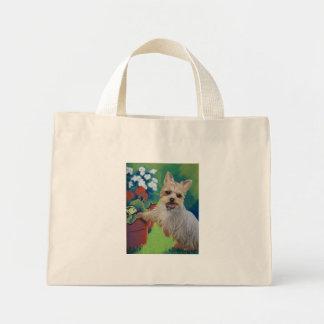 Sweetness Yorkie Canvas Bag
