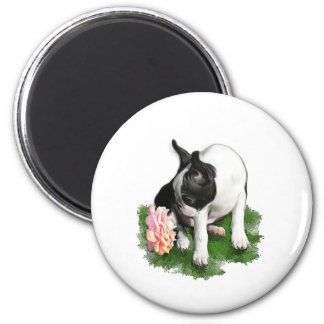 Sweetpea 2 Inch Round Magnet