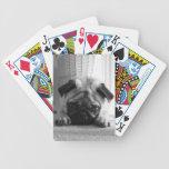 SweetPea Pugs Bicycle Poker Cards