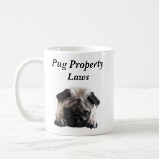 SweetPea Pugs Property Laws Mug