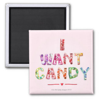 Sweets 2 2 inch square magnet
