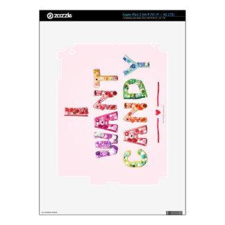 Sweets 2 iPad 3 decals