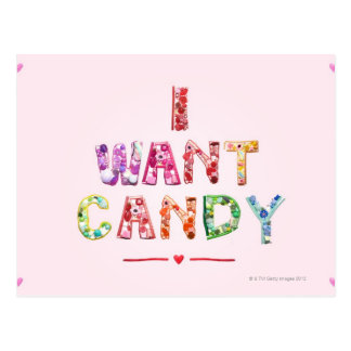 Sweets 2 postcard