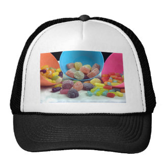 Sweets and candy trucker hats
